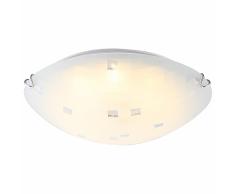 GLOBO Plafoniera a LED JOY I in Vetro Bianco 4041463
