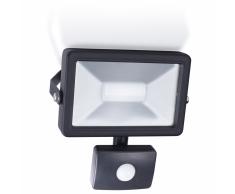 SMARTWARES Faretto LED con Sensore 30 W Nero SL1-B30B