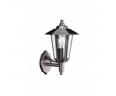 Lanterna da parete GALVESTON Acciaio inox 1 x 60 W 230 V
