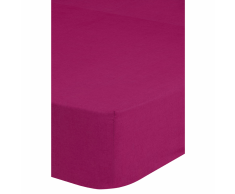 Emotion Lenzuolo con Angoli in Jersey 160/180x200 cm Rosa 0200.72.46