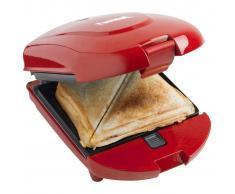 Bestron 3-in-1 Tostapane Macchina cialde e panini 520W rosso ADM2003R