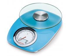 Soehnle Bilancia da Cucina Vintage Style 5 kg Blu 66230