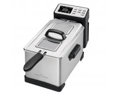 ProfiCook 411002 Friggitrice Profonda PC-FR 1087 2000 W 3 L Argento