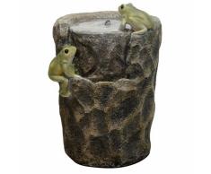 Velda Fontana da Giardino con Giochi d'Acqua con Rane 35 W 850947