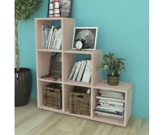 Libreria a scala / Mensole 107 cm colore quercia
