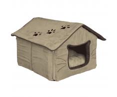 TRIXIE Cuccia per Animali Hilla Poliestere 35x30x40 cm Sabbia 36334