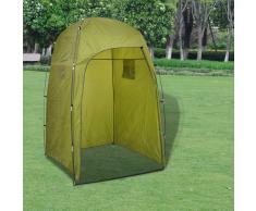 vidaXL Tenda Verde per Doccia/Wc/Cambio vestiti