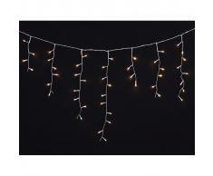 vidaXL Luci Natale LED a cascata 7,8 m., per interni e esterni
