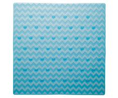 """Sealskin Tappeto Bagno di Sicurezza """"Leisure"""" 53x53 cm Blu"""