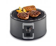 Trebs Barbecue Portatile a Carbone 35 cm Nero 99335