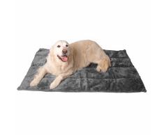 @Pet Coperta per Cani DeLuxe 88x60 cm Grigio 18037
