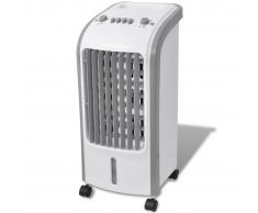 vidaXL Climatizzatore 80W 5L 270 m³/h 25x26x56 cm