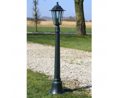 vidaXL Preston Lampione da giardino 105 cm
