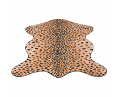 vidaXL Tappeto Sagomato 110x150 cm Stampa a Ghepardo