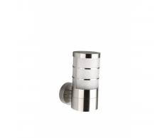 Lanterna da parete CALGARY Acciaio inox 1 x 14 W 230 V
