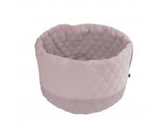 Overseas Cuccia per gatti in tela e feltro 45x40 cm rosa