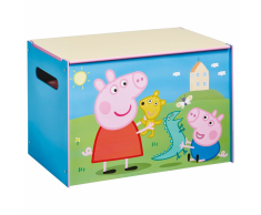 Peppa Pig Scatola per Giocattoli 60x40x40 cm in Legno Blu WORL213011