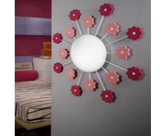 EGLO Lampada da parete / soffitto VIKI 1 rosa 92147