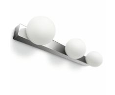 Philips myBathroom Applique a Muro Drops 3x42 W Cromo Bianco 340551116