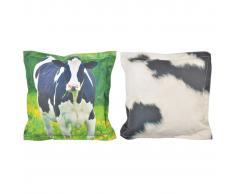 Esschert Design 404662 S BK002 Cuscino da esterno mucca