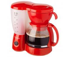 Bestron Macchina da Caffe 800 W Rossa ACM6081R