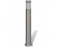 vidaXL Lampione all'aperto in acciaio inossidabile
