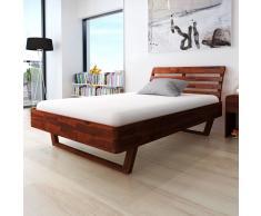 Letto in legno naturale » acquista Letti in legno naturale online su ...