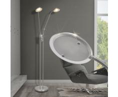vidaXL Lampada da terra a LED dimmerabile 10 W