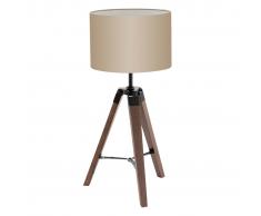 EGLO Lantada 94325 Lampada da tavolo 68 cm grigio talpa