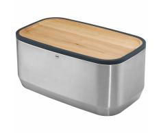 Hailo Portapane KitchenLine Design con Tagliere Acciaio Inossidabile 0833-950