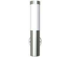 vidaXL Lampioncino da giardino moderno in acciaio inox per interni esterni
