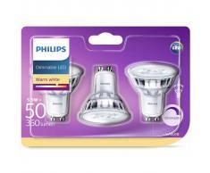 Philips 3 pz Lampadine per Faretti LED Classic 50 W 929001364186