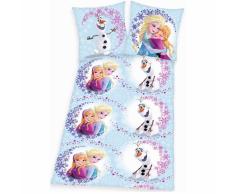 Disney Set Copripiumino Bimbi Frozen Abbraccio 200x140 cm DEKB234117