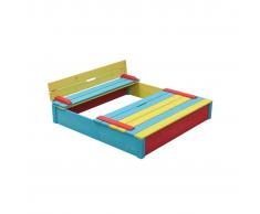 Swing King 7850035 Sabbiera bambini in legno multicolore