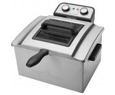 ProfiCook Friggitrice ad Oilo 3000 W 5 L Argentata PC-FR 1038