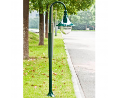 vidaXL Lampione da giardino Cernobbio 120 cm