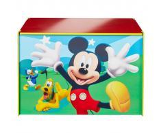 Disney Scatola da Gioco Mickey Mouse 60x40x40 cm Legno Blu WORL119012