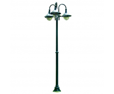 vidaXL Lampioncino da giardino Cernobbio 220 cm. 3 lanterne