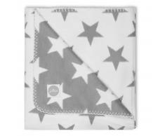 Jollein Coperta Little Star 100x150 cm Grigio 514-522-64966