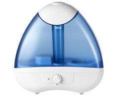 Qlima Umidificatore Ultrasonico 25 W Bianco e Blu H 218