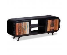 vidaXL Mobile Porta TV in Legno di Recupero 120x30x45 cm