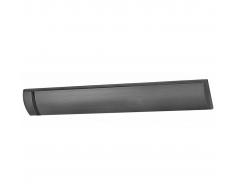 Eurom Riscaldatore da Patio Outdoor Heatpanel 1800 W Nero 333947