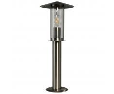 Luxform Lampada da terra per esterno Utah Argento LUX1709S