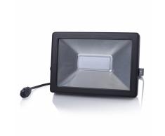 SMARTWARES Faretto LED 50 W Nero FL1-B50B
