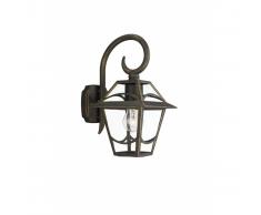 Lanterna da parete BABYLON Nero 1 x 60 W