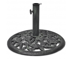 vidaXL Base ombrellone in ghisa 12 kg 48 cm