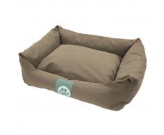Overseas Cuccia per cani in tela 70x60x20 cm sabbia