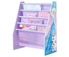Disney Mensola Libri Per Bambini Frozen Viola 60x23x51 cm WORL234018