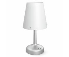 Philips Lampada da Tavolo Senza Fili a LED Grigia 7179648P0