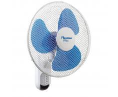 Bestron Ventilatore Parete con Telecomando 40 cm 45 W Bianco DWF40REM